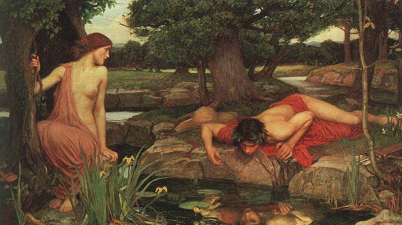 希臘羅馬神話: 自戀的水仙