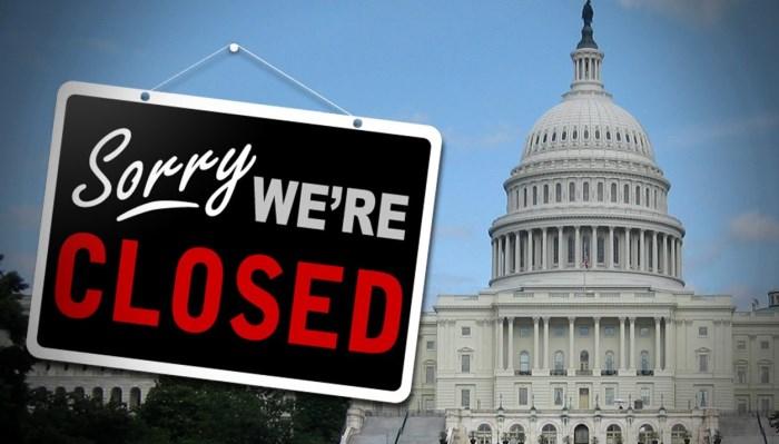 美國政府停擺