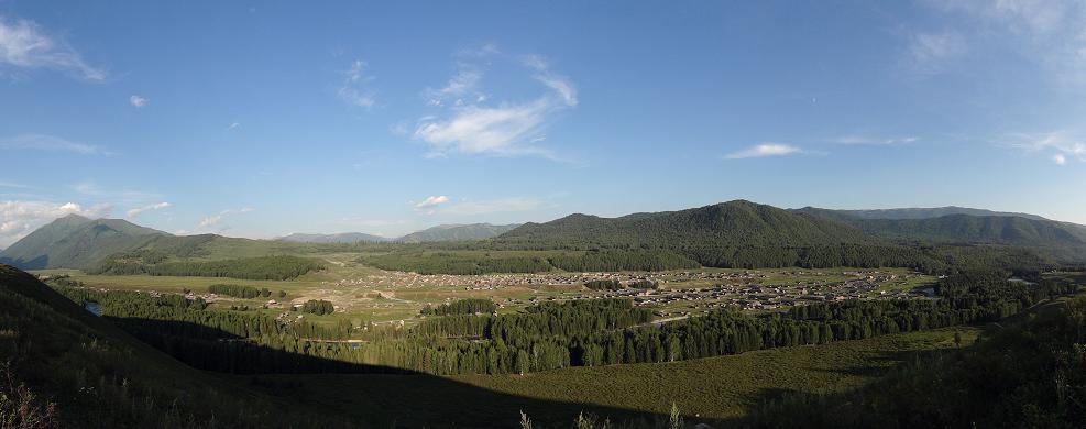 新疆之旅:禾木村