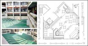 校園空間活化二:理學大樓中庭改建 (作者:黃德生 老師/逢甲大學建築系)