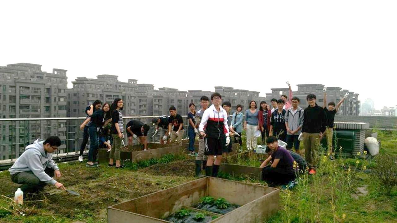 屋頂菜園與跨領域學習
