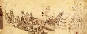 邁森瓷廠以《舒爾茲手稿集》(Schulz-Codex)作為瓷繪的圖樣範本
