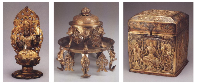 中國金銀器功能的轉化:從裝飾性到宗教化(3)