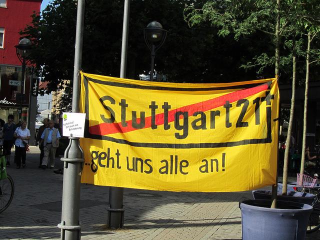 Stuttgart 21  v.s.  民眾參與 – Part 1