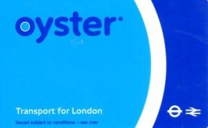 倫敦地鐵Oyster卡